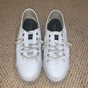 White Sperry TopSider Sneakers